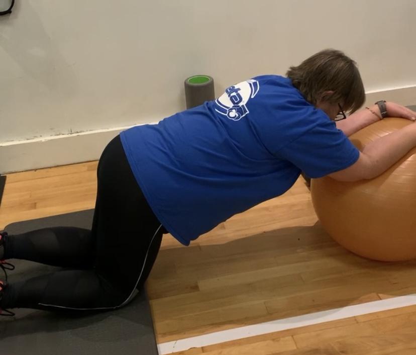 personal training indoors
